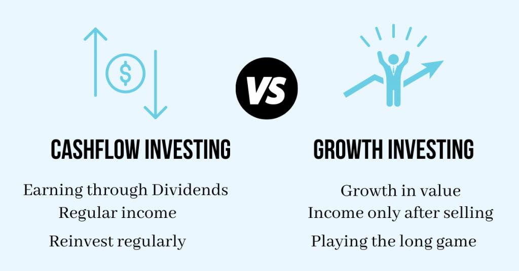Cashflow vs Growth Investing